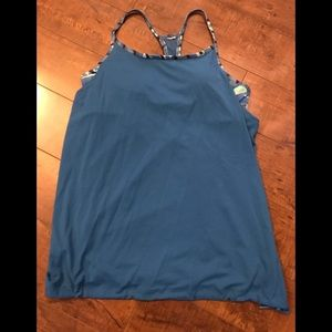 Fila Sports Tank w/built in bra